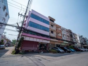 For SaleShophouseEakachai, Bang Bon : Suitable for office !!! Commercial building for sale, 4 floors, 2 booths, hit through 29.6 sq m, Rama 2 Road, Soi 42, wide street, special price !!