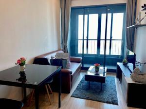 เช่าคอนโดบางนา แบริ่ง : ห้องให้เช่าที่คอนโดไอดิโอโมบิ อีสเกต บางนา อยู่ติด BTS บางนา 100  เมตร ขนาดห้อง 30.40 ตรม one bed room ชั้น 28