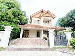 For RentHouseRamkhamhaeng, Hua Mak : ✨ 2-storey detached house for rent | Laddarom Ramkhamhaeng, size 72 sq.wa. | 3 bedrooms, 3 bathrooms
