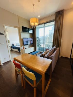For RentCondoRama9, RCA, Petchaburi : Nice Fully Furnished Q Asoke Condo for Rent