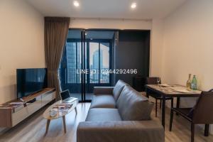 For RentCondoRama9, RCA, Petchaburi : 🌟 @Ideo mobi asoke 1 bedroom, 35 sq.m., beautiful room, wide, fully furnished 🌟