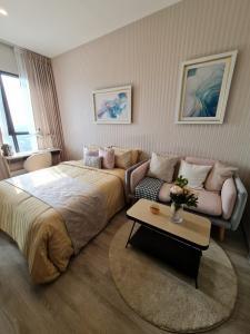 เช่าคอนโดอ่อนนุช อุดมสุข : For rent KnightsBridge Prime – Onnut well decorate 1 Bed 1Bath Ready to move in.