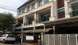 For SaleHousePattanakan, Srinakarin : Townhome 3 floors in the middle of the city, The Royal Monaco. Soi Srinakarin 24, Suan Luang Subdistrict, Suan Luang District, Bangkok