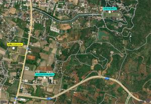 For SaleLandChiang Rai : Land for sale in excellent location Next to Phaholyothin Road Opposite the entrance to Mae Fah Luang University and Mae Fah Luang University Medical Center Hospital, Chiang Rai Province