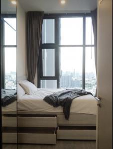 เช่าคอนโดอ่อนนุช อุดมสุข : For Rent The Line สุขุมวิท 101 ชั้นสูง ราคาดี เพียง 13,500- @JST Property.