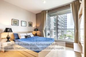 เช่าคอนโดรัชดา ห้วยขวาง : For Rent RHYTHM รัชดา ติด MRT รัชดาภิเษก @JST Property.