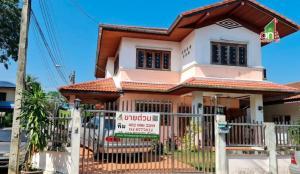 For SaleHousePinklao, Charansanitwong : 2 storey detached house, Fuengfah Village 2, Chimplee Road, Bang Ramat Subdistrict, Taling Chan District, Bangkok Province.