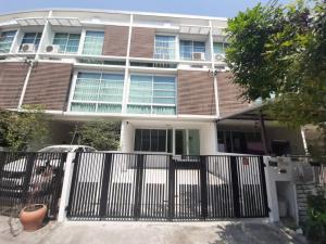 For SaleTownhouseRama 2, Bang Khun Thian : W452 Townhome for sale, Tiari Village, Soi Rama 2 Soi 28, beautiful decoration, ready to work, Build In