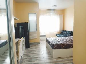 เช่าคอนโดพระราม 9 เพชรบุรีตัดใหม่ : ให้เช่า 7,500 เข้าอยู่จ่าย15,000 Aspace Asoke ratchada MRTพระราม9 Fortune 26 ตรม F.9 ตึกX Studio 1 ห้องนอน  1 ห้องน้ำ