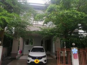 For RentHouseRamkhamhaeng,Min Buri, Romklao : House for rent, 2 floors, 55 sq m., Romklao Road, Minburi District, near Kasem Bundit University, for rent 14, 000/month