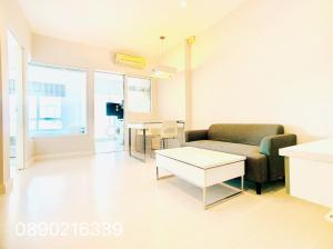 For RentCondoLadprao, Central Ladprao : The Room Ratchada Ladprao Condo near MRT Lat Phrao, 1 bedroom 41 sqm, spacious room, fully furnished, good price, call 0890216339