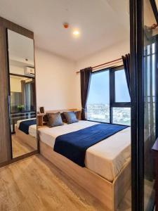 For RentCondoSamrong, Samut Prakan : Kensington Sukhumvit - Thepharak. Beautiful room ready to move in.