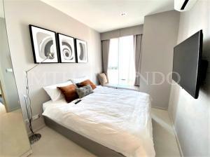 For SaleCondoSukhumvit, Asoke, Thonglor : 🔥 Cheapest!! For Sale Condo Rhythm Sukhumvit 42 near BTS Ekkamai, 35 sqm., 28th floor, ready to move in.