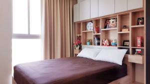 เช่าคอนโดรัชดา ห้วยขวาง : For Rent Noble Revolve Ratchada ONE bed ห้องมุม ห้องตกแต่งสวยเฟอร์ครบ @JST Property.