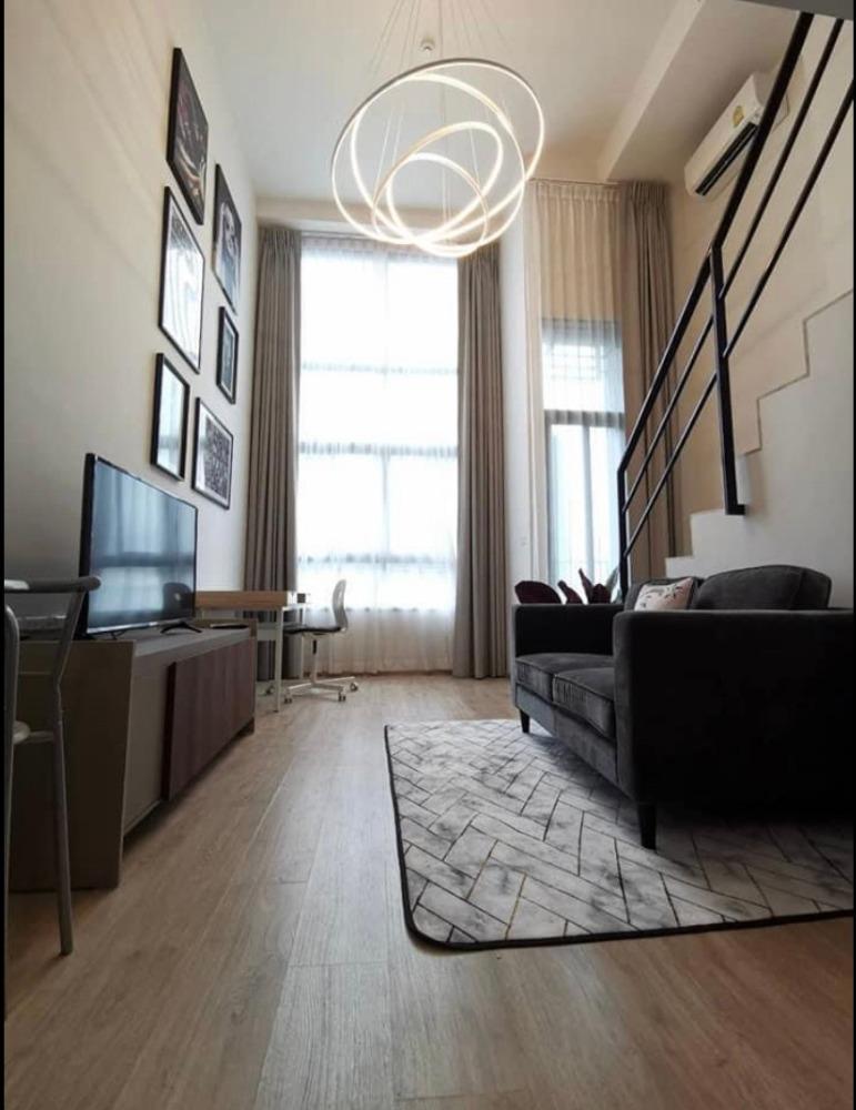 เช่าคอนโดพระราม 9 เพชรบุรีตัดใหม่ : +++เช่าด่วน+++  Ideo New Rama9*** 1 ห้องนอน Duplex ขนาด 35  ตร.ม. แต่งสวยพร้อมเข้าอยู่!!!