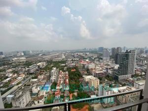 ขายคอนโดสะพานควาย จตุจักร : ขายด่วน! 2 ห้องนอน ทิศเหนือ ห้องมุม ชั้น 35+ The Line Phahon-Pradipat เห็นสวนจตุจักร 8.75 ล้าน!
