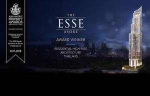 For SaleCondoSukhumvit, Asoke, Thonglor : Always Keep your heel , head and standard, HIGH Stay at The Esse Asoke. Contact Dej 0911428889 Line : mrdetch