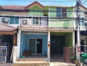 For SaleTownhouseRama 2, Bang Khun Thian : 2 storey townhouse for sale, Pruksa Ville University 32, special price