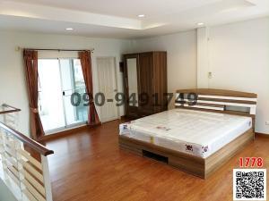 For RentTownhouseSathorn, Narathiwat : Rent a townhouse Baan Klang Muang, urbanion, Sathorn Taksin, good location near BTS Wutthakat