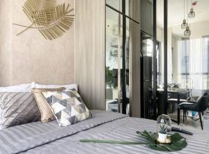 For RentCondoOnnut, Udomsuk : New luxury condo KnightsBridge Prime Onnut Condo for rent 32 Sqm fully fornished