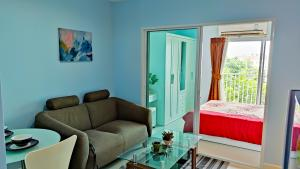 For RentCondoThaphra, Wutthakat : For rent 1 bedroom 32 sqm. Price 8000 baht !!! Metro Park Sathorn Condo near bts Wutthakat