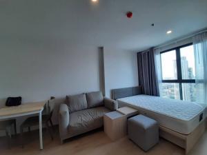 For RentCondoBangna, Lasalle, Bearing : For rent: IDEO O2 (IDEO O2) 1 Studio room 26 sq m, 24th floor, Building C price 8,000 baht
