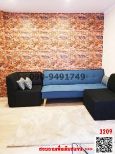 For RentCondoLadkrabang, Suwannaphum Airport : Rent Icondo Green Space Sukhumvit 77 Phase 2 Beautiful room ready to move in