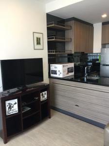 For SaleCondoOnnut, Udomsuk : Sale Mori  1Bed 1Baths 37 Sqm. 7Fl.Fully Furniture.( ห้องมือ 1 ยังไม่ผ่านการอยู่อาศัยมาก่อนค่ะ)