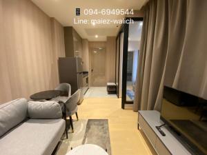 For RentCondoRama9, RCA, Petchaburi : For Rent‼️ NEW LUXURY CONDO, 1 bedroom fully furnished near MRT Rama9