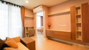For RentCondoRamkhamhaeng,Min Buri, Romklao : Condo for rent, The Cube Plus Minburi, 34.73 sq.m., 1 bedroom, 4th floor, beautiful decoration, fully furnished, you can move in.