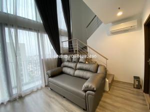 เช่าคอนโดพระราม 9 เพชรบุรีตัดใหม่ : 🚨IDEO MOBI ASOKE Duplex 2 ชั้น 2 ห้องน้ำ 🚨ชั้นสูง 47 ตร.ม. เฟอร์ครบ @SWU