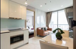 For RentCondoNana, North Nana,Sukhumvit13, Soi Nana : Condo for rent, Hyde Sukhumvit 11, size 62 Sq.m, 2 bed, 2 bath, price only 40000!!! Fl 30+