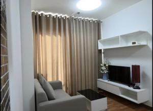 For RentCondoChengwatana, Muangthong : High floor room for rent The Trust Ngamwongwan 🔥 1 bedroom 30 sqm.