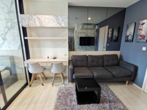 For RentCondoRama9, RCA, Petchaburi : Life Asoke For Rent35 Sq.m. 14th Floor,EastGarden view , nice Fully Furnished