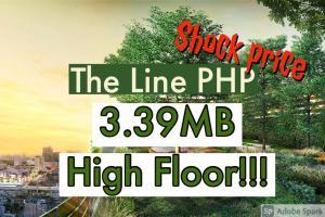 For SaleCondoLadprao, Central Ladprao : 🔥ถูกที่สุดในตึก ทั้งโครงการไม่มีราคานี้อีก!!🔥 Sales 3.39MB!!! ทิศใต้ 💥💥The Line Phahonyothin Park เดอะไลน์ พหลโยธิน พาร์ค 📲Tel/Line: K.Bo 094-1624424 ***ราคาดีที่สุด!!!***