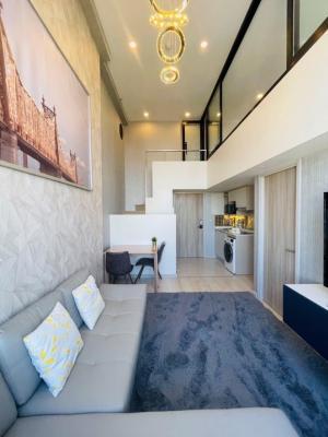 เช่าคอนโดสาทร นราธิวาส : 🔥🔥🔥For Rent KnightsBridge Prime Sathorn 🏬 One Bed Duplex🔷 แต่งสวย✨ @JST Property.