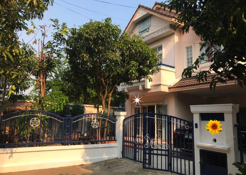 For RentHouseRamkhamhaeng,Min Buri, Romklao : ให้เช่า บ้านเดี่ยว2ชั้น 65ตรว. (หัวมุม)ถนนรามคำแหง190  ใกล้ตลาดน้ำขวัญเรียม ราคาต่อรองได้ ให้เช่า23,000/เดือน