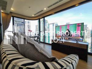 For RentCondoSukhumvit, Asoke, Thonglor : 🔥 Super cheap price , luxury project Asthon Asoke, 2 bedrooms, very hot price, only 58,000, size 64 Sq.m.