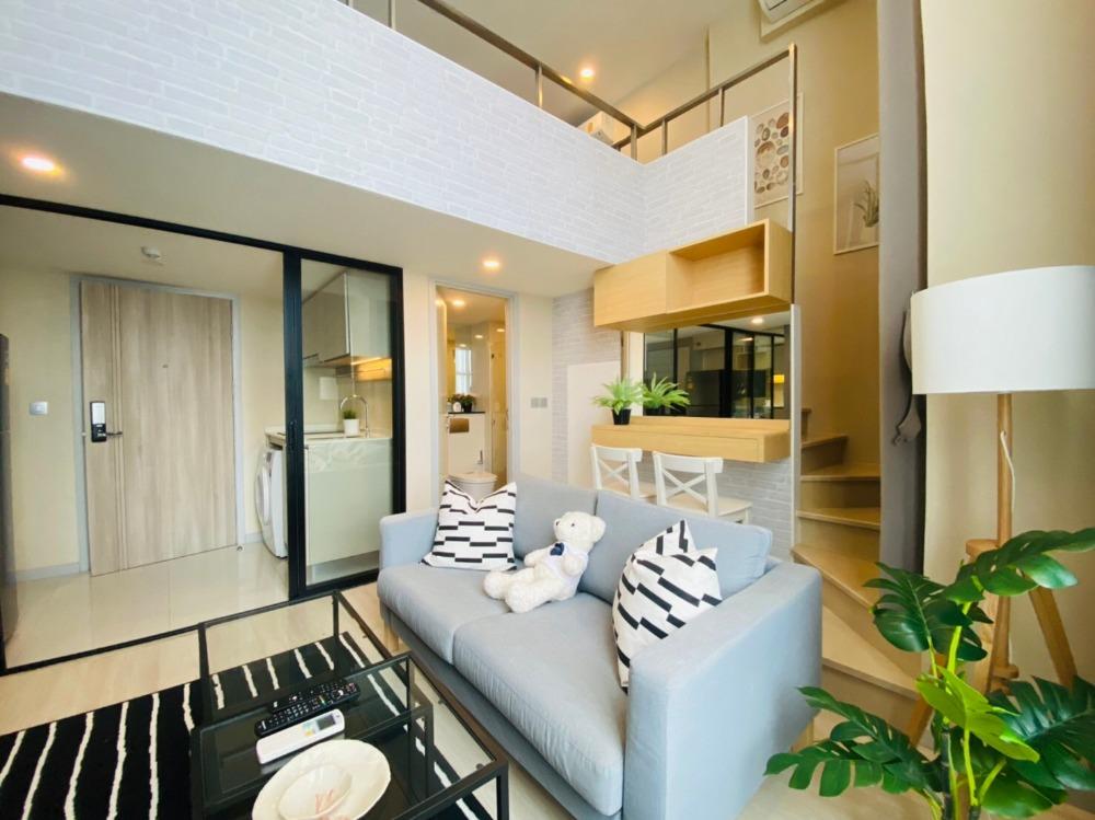 For RentCondoSathorn, Narathiwat : +++เช่าด่วน+++   Knightbridge prime sathorn**  1 ห้องนอน Duplex 40 ตรม. ห้องครบพร้อมเข้าอยู่