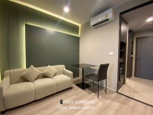 For RentCondoRatchadapisek, Huaikwang, Suttisan : FOR RENT‼️1 bedroom Nice Decoration, New unit ''Ideo Ratchada-Sutthisan'' near MRT Sutthisan, Contact 094-6949544