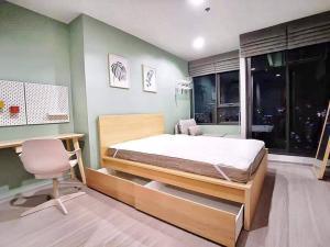เช่าคอนโดลาดพร้าว เซ็นทรัลลาดพร้าว : J063 For Rent เช่า Life Ladprao 1 ห้องนอน 36 ตร.ม. แต่งครบ จบที่เดียว 095-929-5613