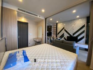 For RentCondoSukhumvit, Asoke, Thonglor : For Rent 1 Bedroom‼️High Floor 3x, Fully Furnished at Ashton Asoke close to MRT Sukhumvit, BTS Asoke, Contact 0946949544