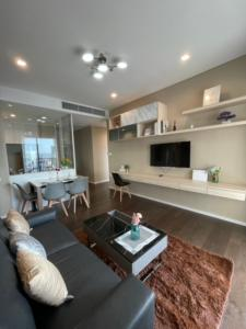 For RentCondoLadprao, Central Ladprao : The Saint Residences 2 beds 2 baths 70 sqm. 35,000 baht