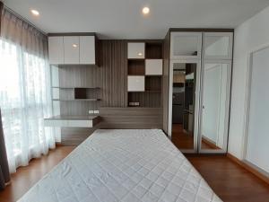 เช่าคอนโดพระราม 3 สาธุประดิษฐ์ : COVID PRICE 1 bedroom (Type Studio) ขนาด 24 ตรม.  ชั้น 15 (เหนือ) บิ้วอินทั้งห้อง พร้อมอยู่ค่ะ นัดชมโทร0621479428