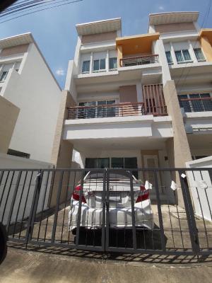 For RentTownhouseKaset Nawamin,Ladplakao : Town Home for Rent at Panasiri Residences ( Kaset Navamin Road )