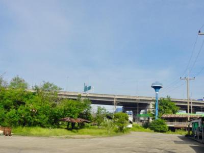 เช่าที่ดินฉะเชิงเทรา : ที่ดินให้เช่า ติดถนน บางนา ใกล้สนามบิน ใกล้นิคม อมตะนคร เวลโกรว์ หน้ากว้าง 18 ม. กม.42 1200 ตรม.
