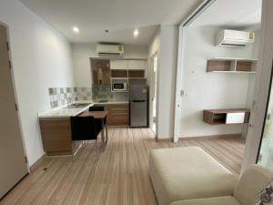 For SaleCondoRattanathibet, Sanambinna : Cheap sale! Nice room, The Hotel Serviced Condo, size 33 sq.m., price 2,090,000 baht, next to the train.