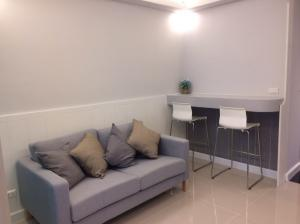 For RentCondoOnnut, Udomsuk : M3304-condo for rent, A space Me Sukhumvit 77, near BTS On Nut, fully furnished, ready to move in.