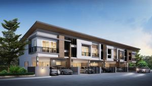 For RentTownhouseRamkhamhaeng,Min Buri, Romklao : Townhouse for rent at NIRVANA CLUSTER RAMKHAMHAENG near minburi