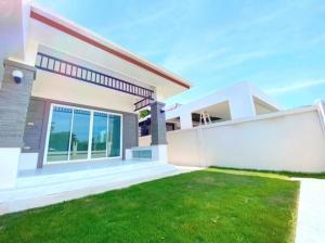 For SaleHouseHua Hin, Prachuap Khiri Khan, Pran Buri : New house ready to move in, next to 4-lane road, Hua Hin